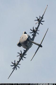 Quede fascinado con este medio de transporte ! Airbus A400M
