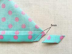 縫い代をカット