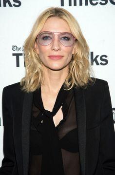 Pin for Later: 77 Stars, die Brillen rocken Cate Blanchett