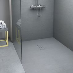 CEMENT #shower tray by Nuovvo | #minimal #bathroom #design #ideas