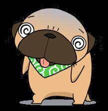 pug stamp - LINE クリエイターズスタンプ