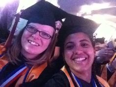 @Sarah Dunlap Group selfie! @Cindy McCutchen #ThinkBigGrad