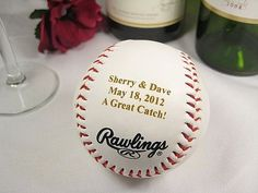 13 Baseball Details That'll Knock Your Wedding Out of the Park | OneWed