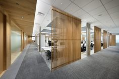 Open Office Design, Open Space Office, Glass Office, Corporate Office Design, Office Interior Design, Office Interiors, Bureau Open Space, Commercial Office Design, Office Ceiling