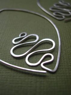 Joan Sterling Silver Antiqued Oval Bead in Script Font