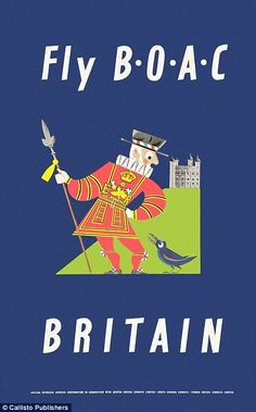 British Overseas Airways Corp merged with British European Airways to form British Airways...