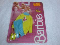 NRFP Barbie Vintage 1986 My First Ballerina Mattel 1886 | eBay