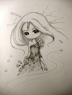 Jolie petite fille #illustration
