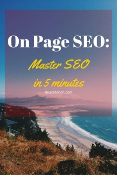 Investing in good On Page SEO is one of the easiest and most profitable things you can do to get permanent, regular traffic viewing your content. Therefore, learning to master it should be a priority for everyone seeking to rank any content on the Internet. The truth is that there are plenty of excellent posts explaining exactly what On Page SEO is, with all the details of how to use keywords, tools, tricks, and so on. But a common weakness I found in almost all of them is the absence of...