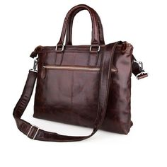 91.86$  Buy here - http://ali5dl.worldwells.pw/go.php?t=32647779601 - 2016 New Arrive 100% Genuine Cattle Leather Shoulder Messenger Bag Men's Briefcase Handbag Business Bag 7247 91.86$