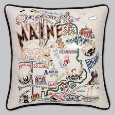 Maine pillow