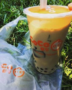 #Repost @stellaismeee first time drinking coco in my life and its in Melbourne! highly recommended  #bubbletea#coco#thebest#melbourne#sunnyday