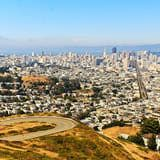 Twin Peaks~second highest point in San Francisco
