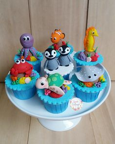 I love making these cute Under the Sea cupcakes!