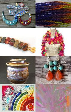 What Colors! by Nancy and Bruce on Etsy--Pinned with TreasuryPin.com