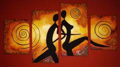 Figuras Contemporary Art Daily, Contemporary Artists, Modern Art, African Art Paintings, Panel Art, Art Studios, Black Art, Art Sketches, Abstract Art
