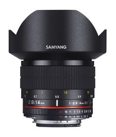 SAMYANG 14 mm f / 2.8 IF ED UMC Wide-angle Lens - for Canon