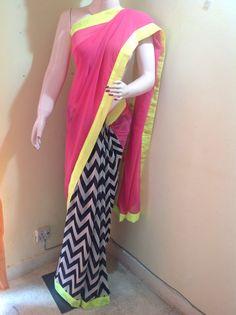 Designer sarees by Rangat by Namita