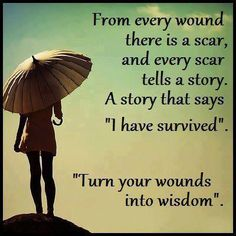 YOUR WOUNDS .....