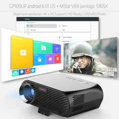 Video Projector Smart Android 3200 Lumens WIFI Bluetooth Home Theater Projector HD Movie Game Beamer Bluetooth Home Theatre, Liquid Crystal Display, Android Wifi, Lcd Projector, Home Theater Projectors, Computer Network, Led, Hd Movies, Home Theaters