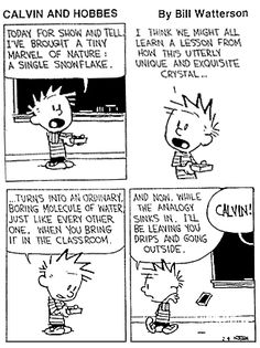 Calvin and Show & Tell