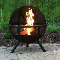 40 Incredibly Cool Fire Pits You Can Buy For Your Home! Browse through our list of cool fire pits and find the one that suits your home. we have compiled all of the coolest fire pits we could find. Check it out! Wood Fire Pit, Steel Fire Pit, Wood Burning Fire Pit, Diy Fire Pit, Fire Pit Backyard, Diy Propane Fire Pit, Fire Pit Ball, Fire Pit Sphere, Fire Pit Poker
