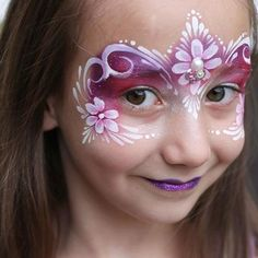 This princess design was originally inspired by Marcela Murad and continues to be one of my faves to paint  #inspired #princess #facepaint #faceart #gems #bling #facepainting #facepainter #pretty #mask #princessfacepaint #paint #painting #art #flowers #nofilter #pink #prettyinpink #calgary #yyc #canada #calgaryfacepainter