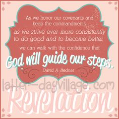 "May LDS Young Women lesson helps for ""How do I receive personal revelation?"" Lesson Packet includes much more than just handouts! May: Prophets and Revelation lesson helps found at www.Latter-DayVillage.com"