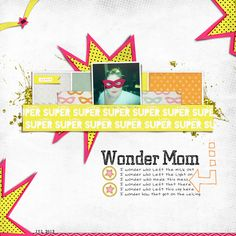 Scrapbooking Ideas Inspired by Superhero and Comic-Book Designs | Carrie Arick | Get It Scrapped