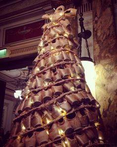 Pointe shoe Christmas tree....