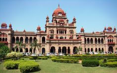 Khalsa College, Amritsar   by Jupinder, via Flickr  The building is even more spectacular in person.