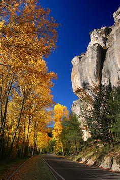 Autumn in Cuenca, Spain