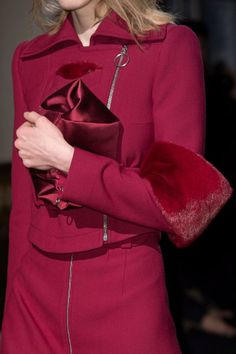 Detailed photos of Carven Autumn (Fall) / Winter 2014