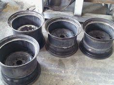 Vw amarok 15 inc offset steel wheels