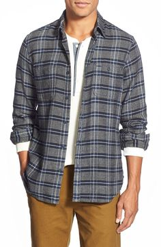Wallin & Bros. Trim Fit Flannel Shirt-large