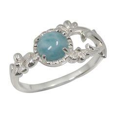 Sterling Silver Larimar Ring jm-ri4464/LR-dsm #larimarring #larimarjewelry #jewelryandmore by http://jewelryandmore.us/
