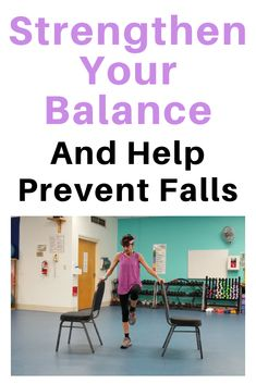 Balance Exercises To Help Prevent Falls Balance Exercises To Help Prevent Falls,Free Fitness Videos And Workouts Strengthen your balance by promoting muscle memory to kick in when you stumble and prevent dangerous falls Related. Fitness Workout For Women, Fitness Tips, Health Fitness, Health Club, Fitness Tracker, Yoga Fitness, Chair Exercises, Balance Exercises, Gym Douce