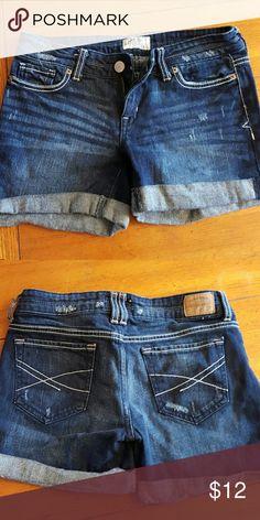 Aeropostle shorts Jean shorts size 0 - like new Aeropostale Shorts Jean Shorts