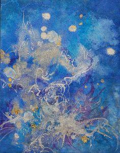 動物画「ブルー I」[ゼノビッチ美奈子] | ART-Meter