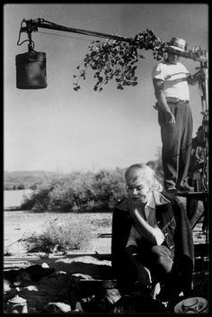 """1960 / Sur le tournage du film """"The misfits"""", ces 8 nouvelles photos dédiées à mon amie Simona."""
