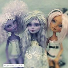Skeriosities custom monster high dolls Jane Boolittle twyla ever after high doll briar beauty repaint reroot ooak