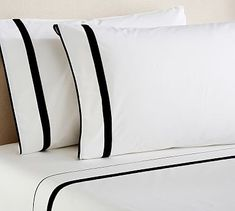 Morgan Organic Sheet Set Cal King Black Bedding Linen