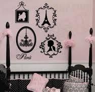 Paris theme spare room or dressing room