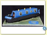 how to make a narrow boat cake - Google Search