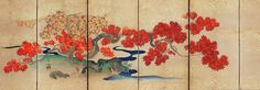Orientalart - Antichi Paraventi Giapponesi - Paraventi a sei ante