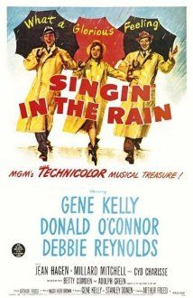 Singin' in the Rain (1952) A silent film production company & cast make a difficult transition to sound, with Gene Kelly, Donald O'Connor, Debbie Reynolds.