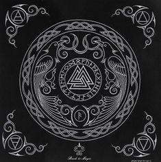 MANDALA X T-SHIRT Celtic Kelten Yantra Hinduism Buddhism Buddhismus Hinduismus
