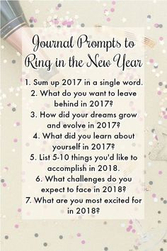 The New Year is a time to reflect, to set goals, to grow. Pin to save and click through to the website to get the complete list! #journal #journaling #journalprompts #newyear #newyearsresolution #newyearsresolutions #goalsetting