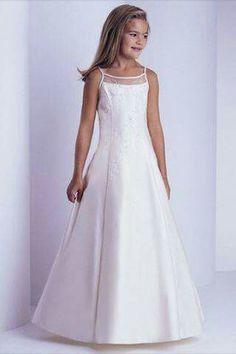 9e88c91bd66 Floor Length First Communion Dresses For Girls Wedding Party