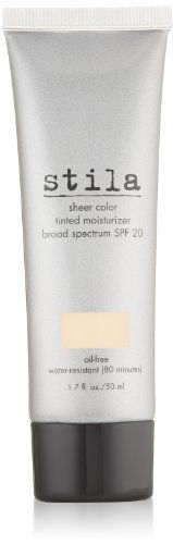 Stila's iconic tinted moisturizer is getting a makeover! Introducing the new and improved Sheer Color Tinted Moisturizer with SPF 20. It's more than just makeup; it's sheer luminous color infused with light diffusing pigments to help diminish the look of fine lines and wrinkles, plus it... FULL ARTICLE @ http://www.sheamoistureproducts.com/store/stila-sheer-color-tinted-moisturizer-spf-20-tone-1-7-fl-oz/?c=8170